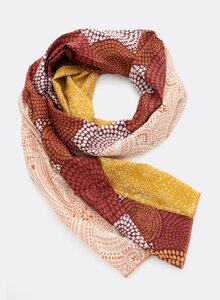 Großer Schal aus Bio-Baumwolle – Mustermix 3312/3313 - Djian Collection