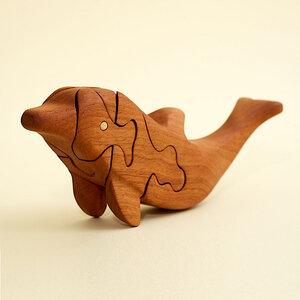 3D Holzpuzzle - Delphin - Ecowoods