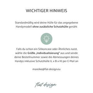 Handyhülle AVEIRO für Samsung Galaxy S-Serie - VEGANer Filz - anthrazit - flat design by Mareike Kriesten