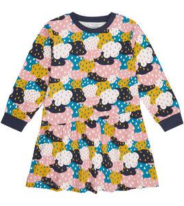 Bequemes Kinderkleid mit bunten Wolken aus Biobaumwolle - Sense Organics & friends in cooperation with GARY MASH