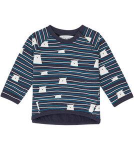 Baby Sweatshirt mit Eisbären aus Biobaumwolle - Sense Organics & friends in cooperation with GARY MASH