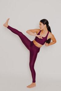 "Damen ECONYL® Leggings ""Fit for Future"" Besonnen Mindful Yoga Fashion - BESONNEN"
