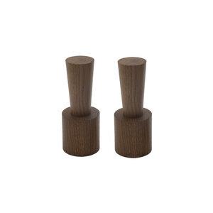 2er-Set Salz- und Pfeffermühle mit Porzellanmahlwerk | nieder - 4betterdays