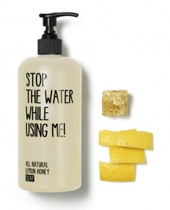 All Natural Lemon Honey Soap - Stop The Water While Using Me!