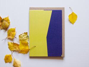 Kartenset • HERBST (acht Postkarten mit Kuverts) - FINE colours