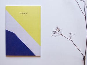 Notizbuch DIN A5 • HERBST (mit Papier aus Pflanzenresten) - FINE colours