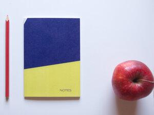 Notizbuch DIN A6 • HERBST (mit Papier aus Pflanzenresten) - FINE colours