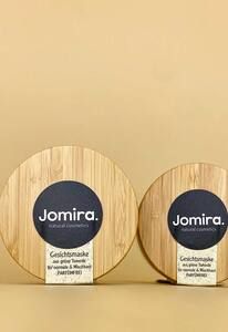 Gesichtsmaske aus grüner Tonerde mit leichtem Bambussrcub Peeling - JOMIRA. natural cosmetics