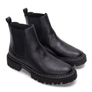 NAE Duda Micro- Vegane, knöchelhohe Chelsea- Boots - Nae Vegan Shoes