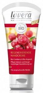 Bio Cranberry & Bio Arganöl Regenerierende Handcreme - Lavera
