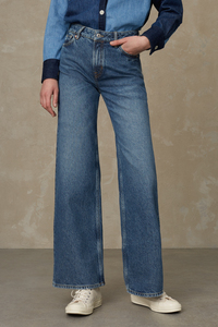 Jeans Wide flare Fit - Jane - aus recycelter Baumwolle - Kings Of Indigo