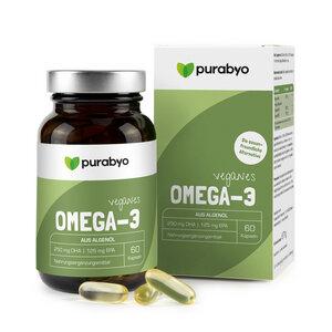 Omega 3 Vegan aus Algenöl - Purabyo