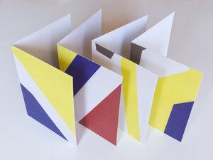 Kartenset • HERBST (vier Karten mit Kuverts) - FINE colours