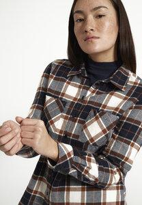 Bluse aus weichem Flanell | Shirt FELICIA - recolution