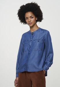 Bluse aus weichem TENCEL Lyocell | Blouse ARALIA - recolution
