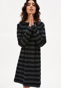 DANIKAA STRIPE - Damen Jerseykleid aus Bio-Baumwolle - ARMEDANGELS