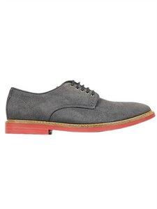 FauxSuedeDerbysGrey - Wills Vegan Shoes