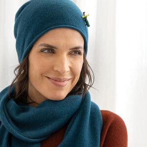 Damen Kaschmir Mütze - meinfrollein