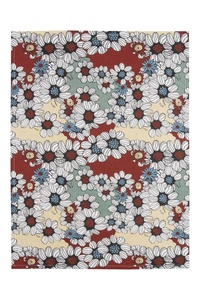 Geschirrtuch Floral, 2er Set, aus Biobaumwolle, GOTS-zertifiziert, 70 x 50 cm - TRANQUILLO