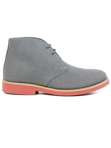 Women's Desert Boots Grey - WILLS LONDON