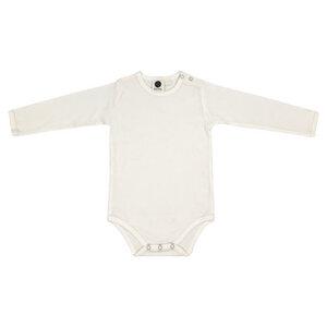 Baby Body Langarm/Unisex/Weiß/100% Organische Baumwolle - Caico Cotton