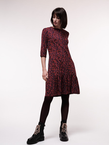 Kleid mit 3/4 Arm aus Bio-Baumwolle mit TENCEL Modal - LANIUS