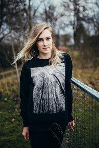 Forest #1 Unisex Organic Raglan Sweatshirt - ilovemixtapes