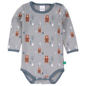 Langarm Baby Body *Bear* GOTS & Bio- Baumwolle   Freds World - Freds World