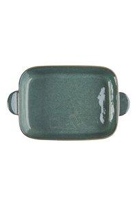 Auflaufform Industrial aus Steinzeug in Emerald und Lavender - TRANQUILLO