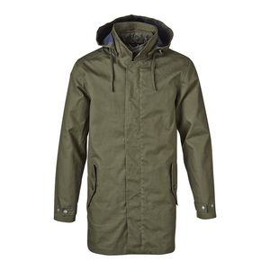 DOUBLE LAYER PARKA JACKET - KnowledgeCotton Apparel