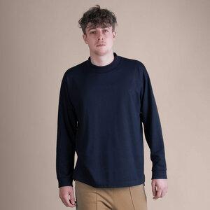 soki Tencel Shirt in navy - Unisex - soki