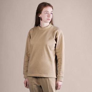 soki Organic Cotton Shirt in camel - Unisex - soki
