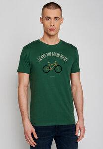 Bike Leave Road Guide - T-Shirt 100% Bio-Baumwolle - GreenBomb
