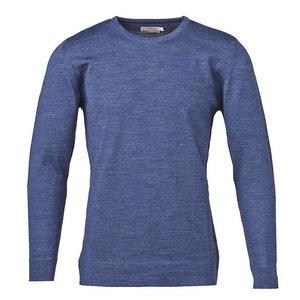 Basic Round Neck Pullover - Dark Denim - KnowledgeCotton Apparel
