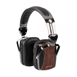 Woodon On-Ear Kopfhörer aus Walnuss-Holz - InLine