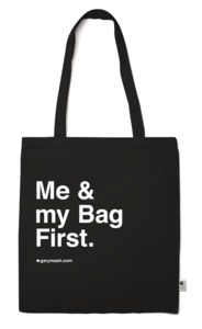 Tasche Me & my bag first. - Gary Mash