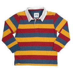 Rugby Poloshirt langarm GOTS - Kite
