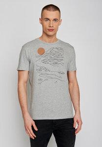 Nature Sunset Guide - T-Shirt 100% Bio-Baumwolle - GreenBomb