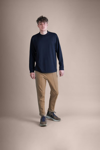 soki Organic Cotton Pants in camel - Unisex - soki