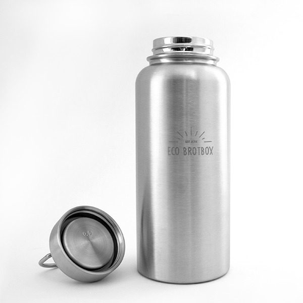 eco brotbox yan edelstahl isolierflasche 1 liter. Black Bedroom Furniture Sets. Home Design Ideas