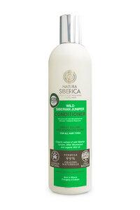Haarspülung für alle Haartypen, Wildwacholder, BDIH-zertifiziert, 400 ml - NATURA SIBERICA