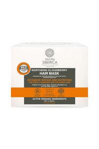 Haarkur für gefärbtes & strapaziertes Haar, Moltebeere, BDIH-zertifiziert, 370 ml - NATURA SIBERICA