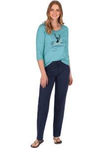 Schicker Schlafanzug in Öko-Qualität - Trigema