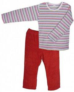 Baby u. Kinder Frottee Schlafanzug Bio Baumwolle - iobio