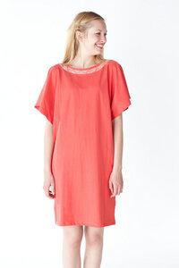 Kleid 'Lebensgeschichte' Persisches Rot - Jyoti - Fair Works