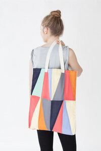 Shopper 'Plaudertasche' Mosaik - Jyoti - Fair Works