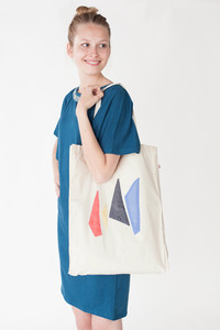 Shopper 'Plaudertasche' Obelisk - Jyoti - Fair Works