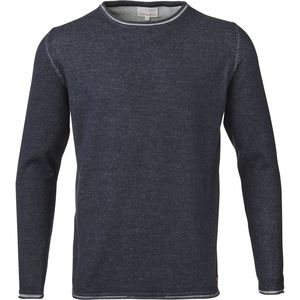 Two Toned Knit W/Roll Edge - Total Eclipse - KnowledgeCotton Apparel