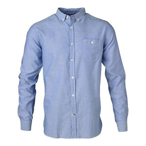 Button Down Oxford Shirt - Limoges - KnowledgeCotton Apparel