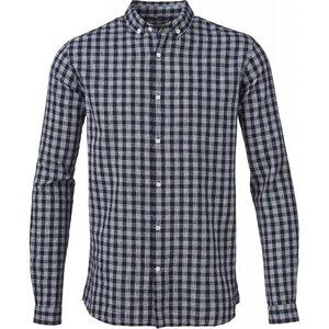 Small Checked Cotton/Linen Shirt - KnowledgeCotton Apparel